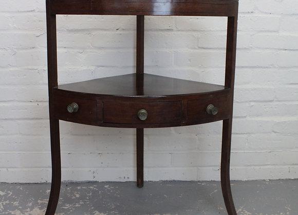 George III Corner Table
