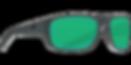 tco98-matte-gray-green-mirror-lens-angle