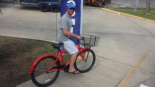 renting a bike in Galveston