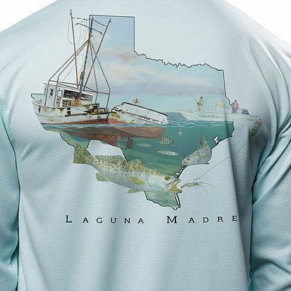 Laguna Madre Shrimp Wreck LS Shirt