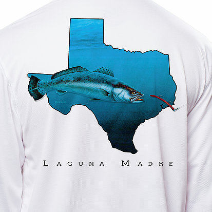 Laguna Madre Texas Trout LS Shirt