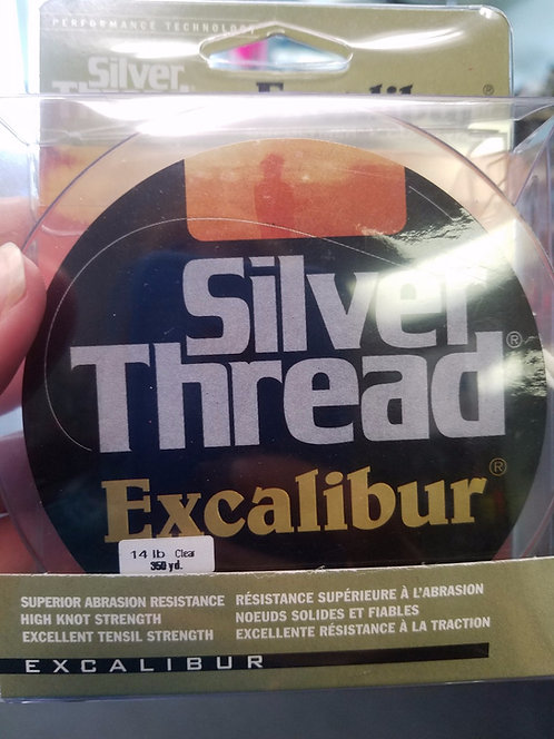 Excalibur Silver Thread Line - 12#,14#,17# 360 Yards