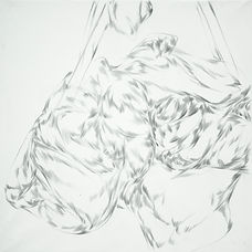 Lullaby, 50x50 cm, pencil on paper