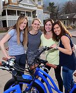 Girls night electric bike tour at chautauqua