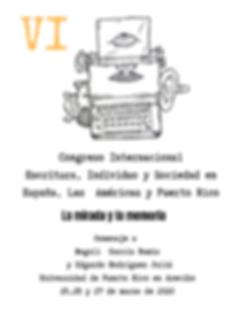 Congreso de Literatura Puerto Rico