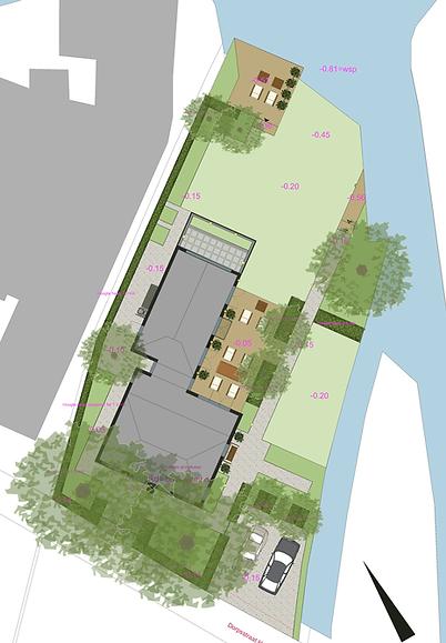 Tuinontwerp, landschappelijke tuin, Studio-b-gardens