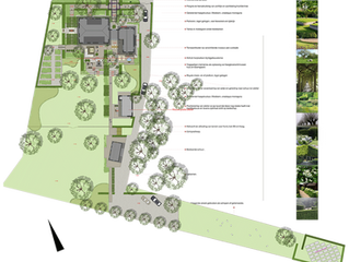 Plattelandstuin in Vechtdal