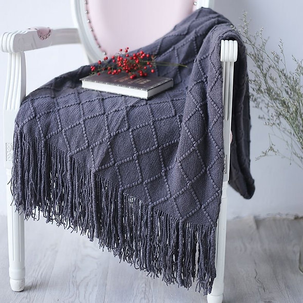 Office Air Conditioning Siesta Blanket Knit Blankets for Picnics