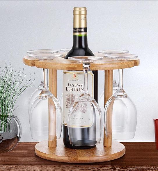 Creative Wine Rack Upside Down Wine Glass Rack