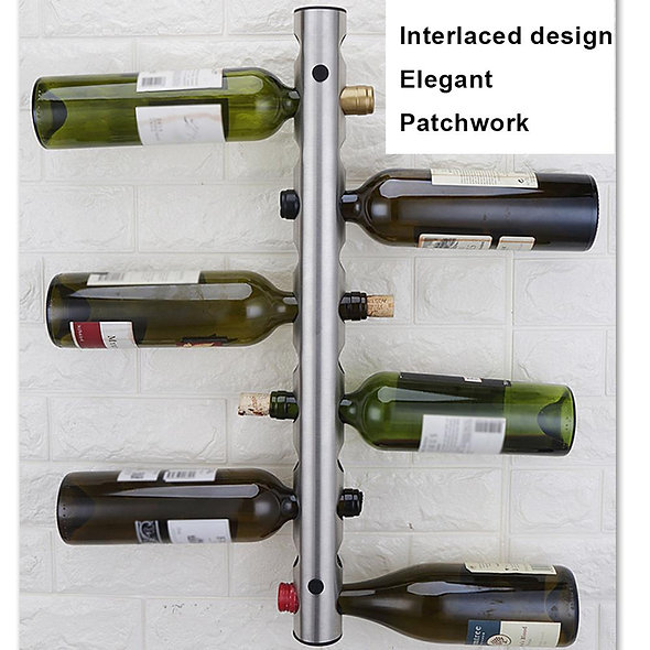 Bottle Mouth 3CM Stainless Steel Red Wine Shelf
