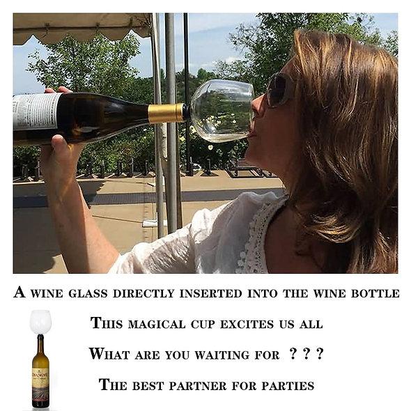 Creative Lead-Free Glass Wine Glass