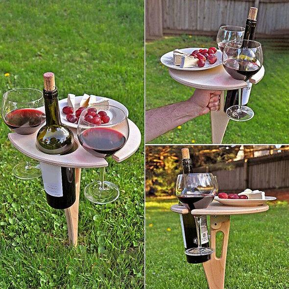 Wine Glass Racks Collapsible Racks Wooden Wine Table