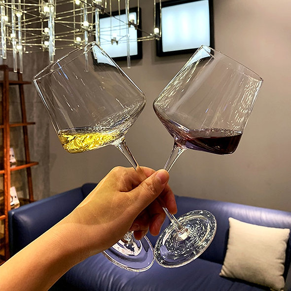 Crystal Insulated Wine Glass