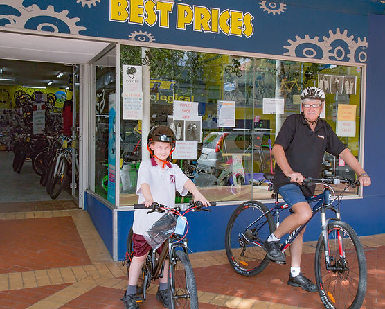 Tamworth Bicycles. 280 Peel Street Tamworth