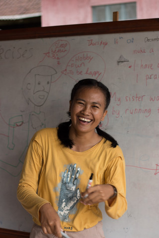 "Part 2. Getting to Know the English Teacher of the ""Eka Chita Prandyan"" YEAH foundation"
