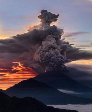 Update over vulkaan Gunung Agung