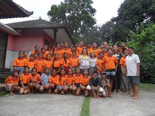 Afscheid vrijwilligers Eka Chita Pradnyan, juni 2017