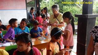 Creatieve lessen in Samsaman