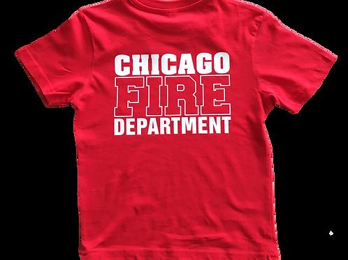 T-shirt Chicago Fire Kids