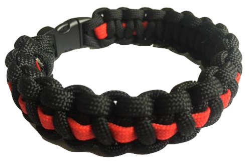 Bracelet paracord Thin-Red-Line