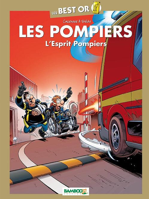 "Tome ""Best Or"" l'esprit Pompier"