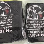 Linges pour les Joutes Inter-pompier du disctrict de la Gruyère