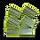 Thumbnail: Plaque dorsale sur velcro