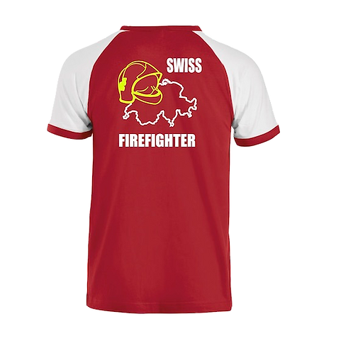 T-shirt Swiss Fire Fighter
