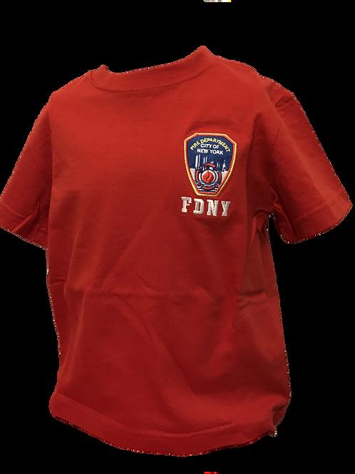 T-shirt FDNY rouge (enfants)