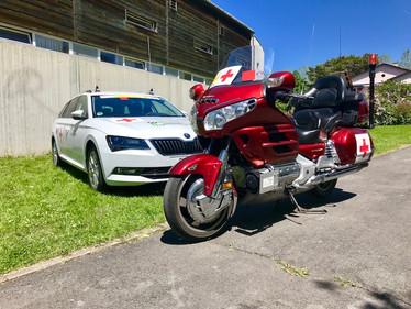 Autocollants Croix-Rouge
