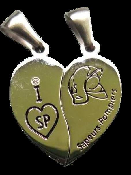 Pendentif Coeur SP (2pcs)