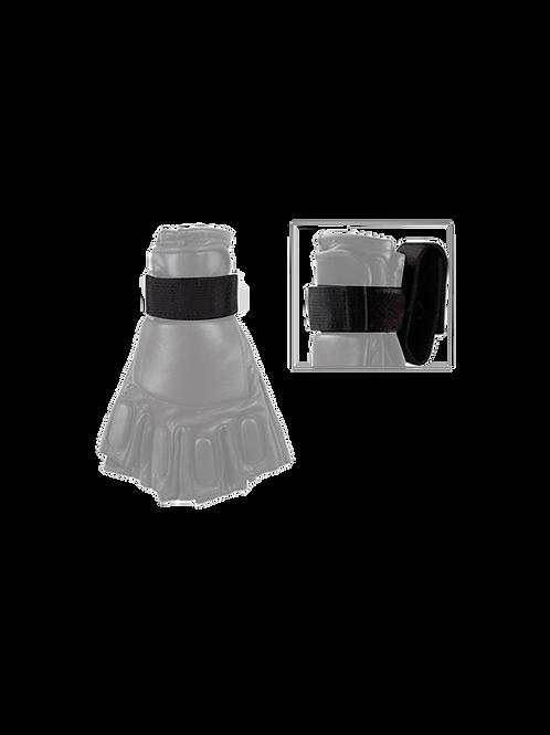 Porte-gants velcro noir