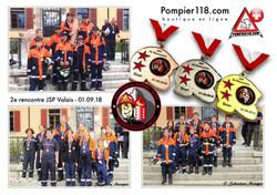 Médailles Rencontre JSP Sion
