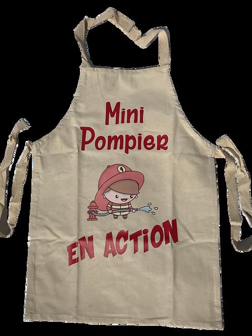 Tablier Mini Pompier