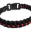 Thumbnail: Bracelet paracord Thin-Red-Line