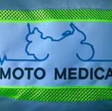 Gilet de la moto médicale du Tour de Romandie