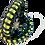 Thumbnail: Bracelet paracord look tenue de pompier