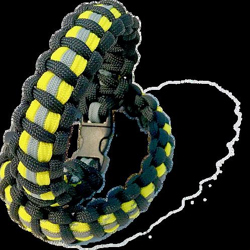 Bracelet paracord look tenue de pompier