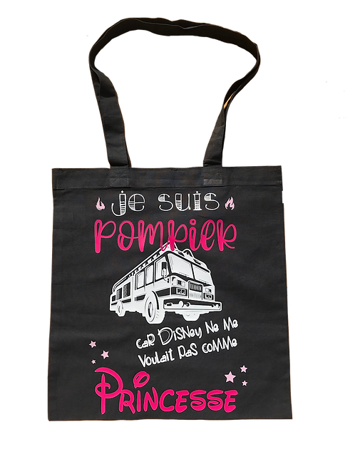 """Sac de courses """"princesse"""""""
