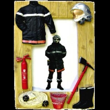 Cadre photo pompier