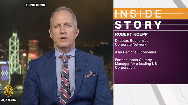 Robert Koepp Al Jazeera Inside Story Jap