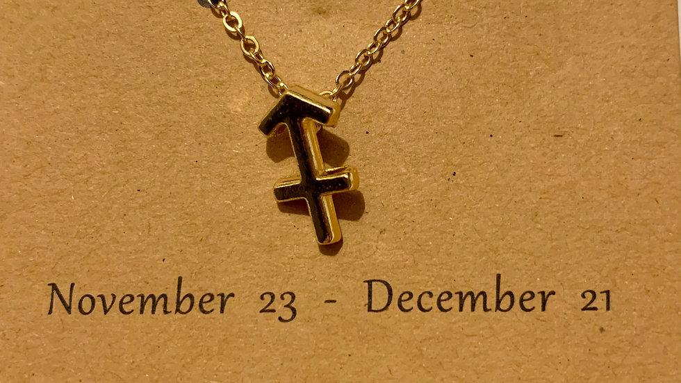 Zodiac Necklaces (gold tone)