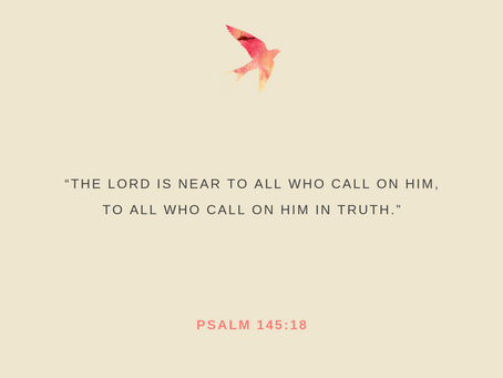 Day 36: Call on Him