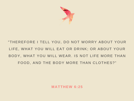 Day 37: No More Worrying