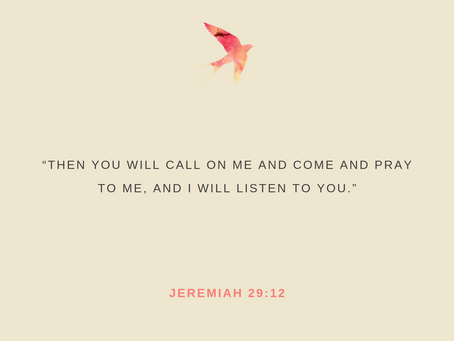 Day 30: He Always Listens