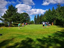 Stor interesse for golfkurs