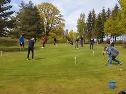 God stemning på Veien til golf!