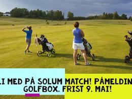 Bli med på Solum match!