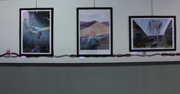 Exhibition in Rome organized by LoosenArt, 2017 (first from the right)