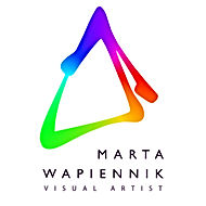 Marta Wapiennik artist logo